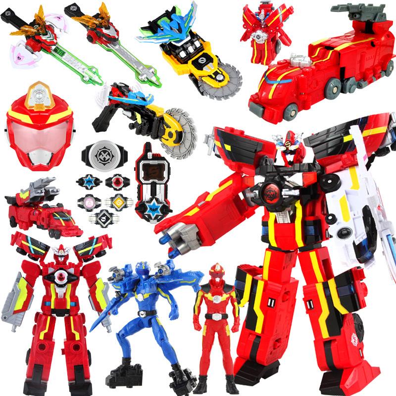 巨神战击队 超救分队冲锋爆裂旋天战击王 变形机器人金刚玩具
